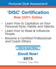 'DISC' Online Certification